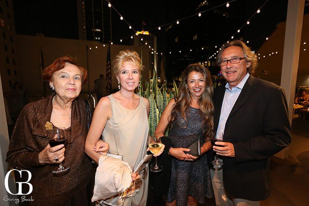 Olga and Tatiana Kissaleva with Ida Deichaite and Alan Lewis