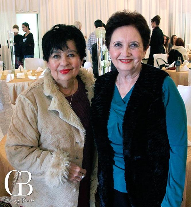 Olivia Saenz and Norma Camacho