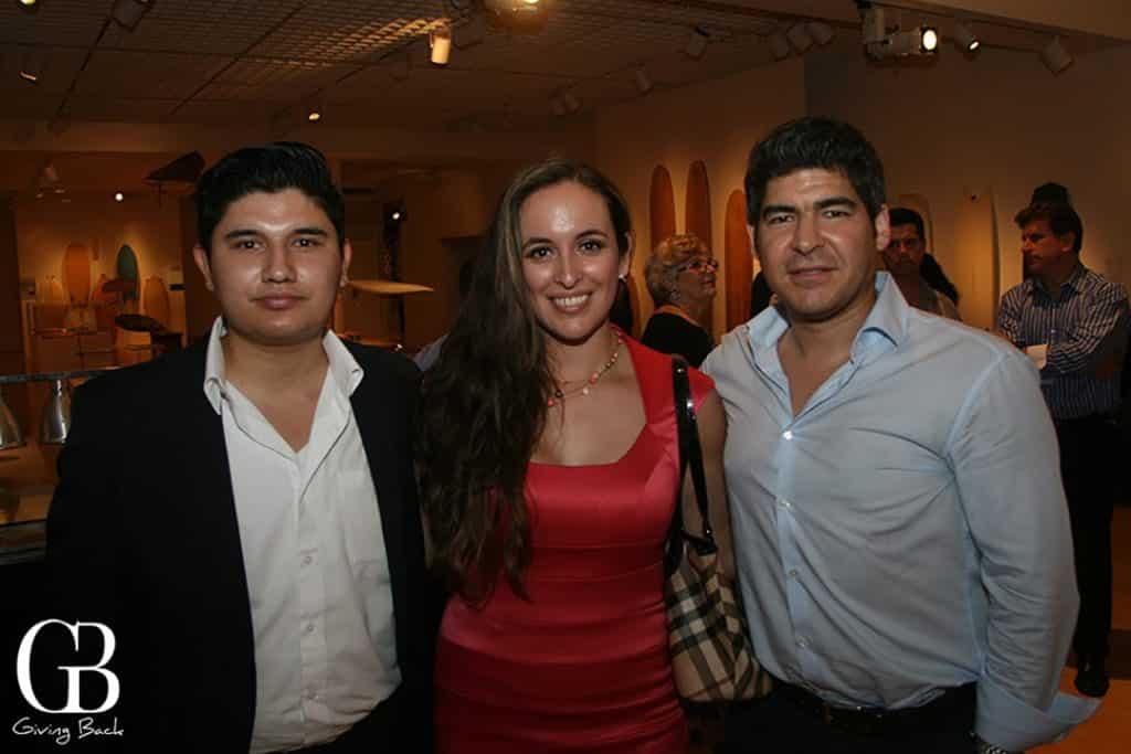 Oscar Franco  Adriana Eguia and Carlos Cortez