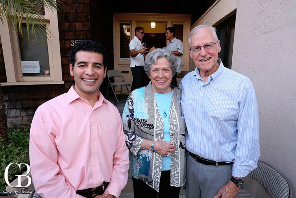Pablo Palomino with Doris and Peter Ellsworth