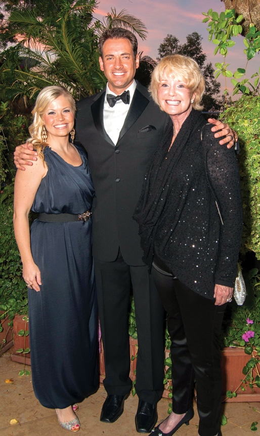 Paige and Dan Cohen with Sharon Smith +