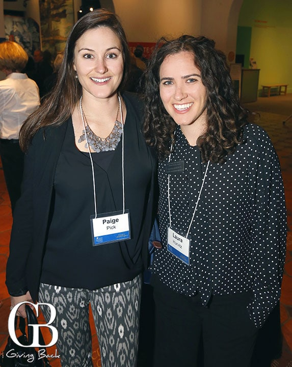 Paige Pick and Laura Hurvitz