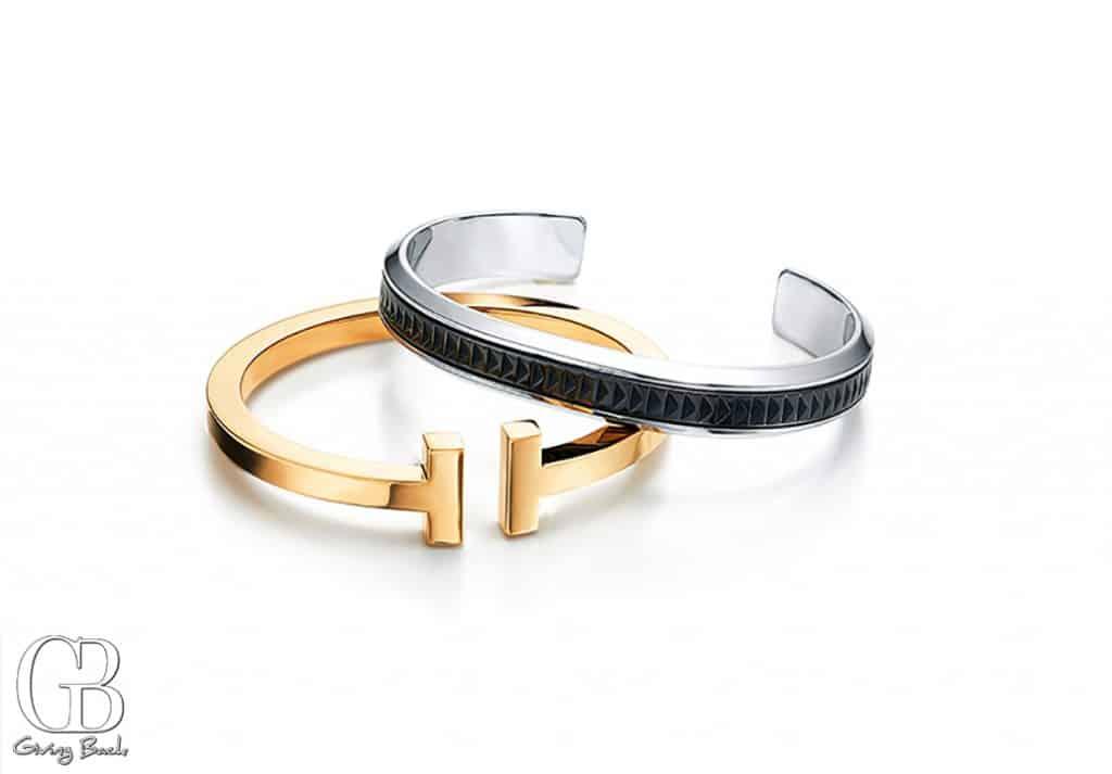 Paloma   s Caliper cuff and Tiffany T square bracelet
