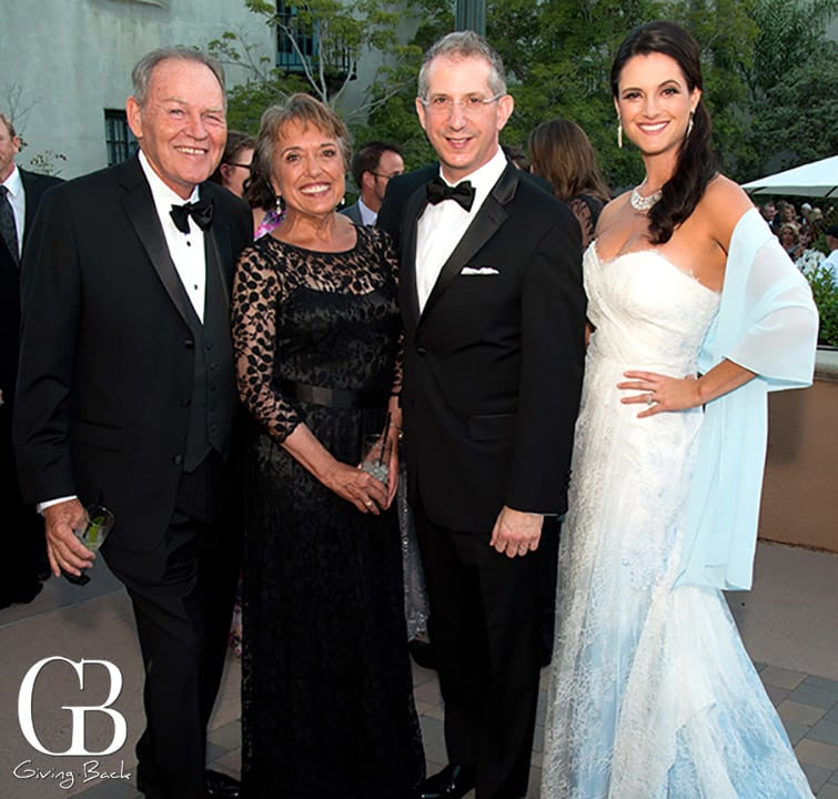 Pam and Hal Fuson with Barry and Hilit Edelstein