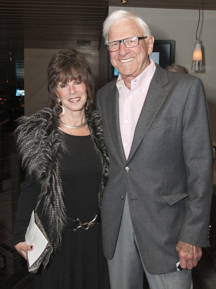 Pamela Ellis and Richard Woltman