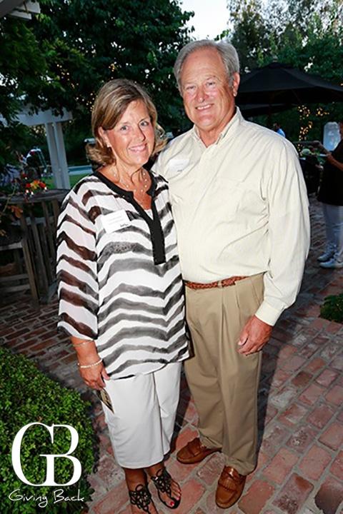 Pamela and David Hunt