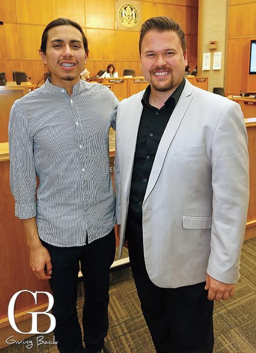 Panchito Martinez and Jose Cruz