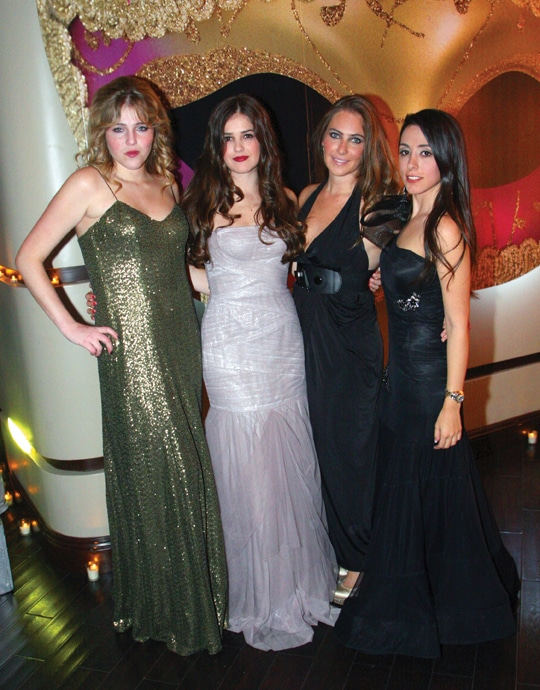 Paola Alberdi Macouzet, Fabiola Cetto Padilla, Jessica Fridman y Hanna Jaff.JPG