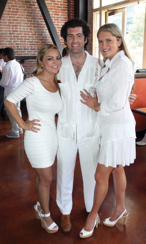 Paola Gutierrez, Abelardo Rodriguez and Rebecca Gomez.JPG