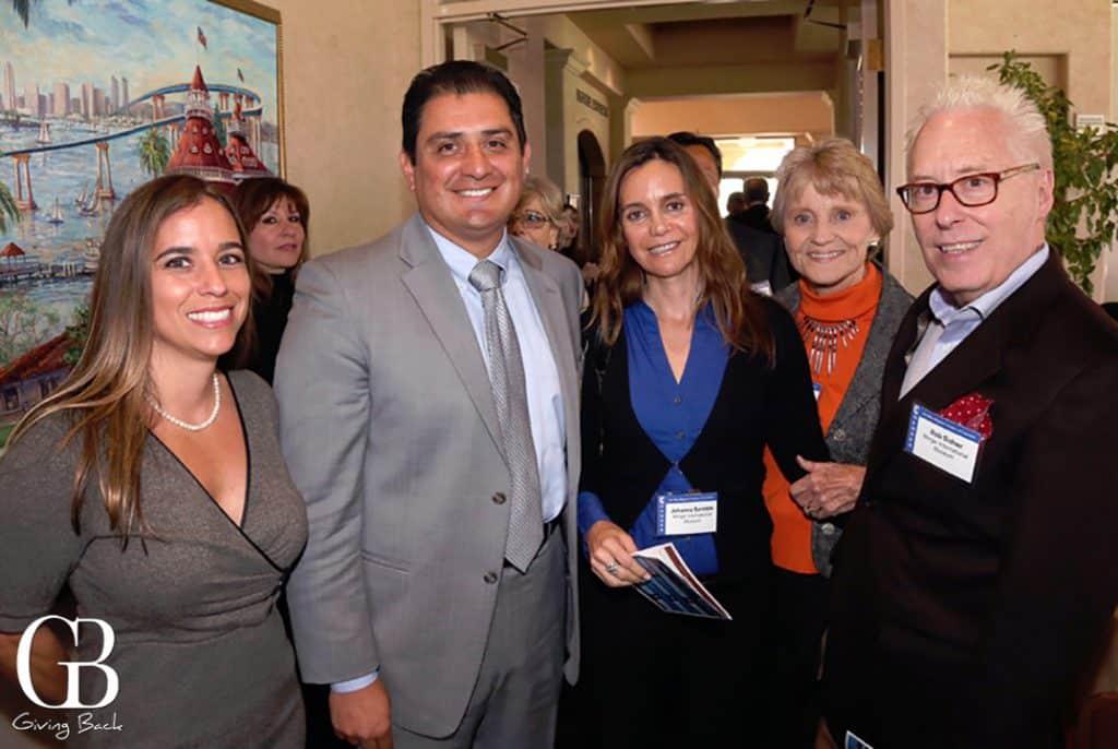 Paola Avila  Senator Ben Hueso  Johanna Saretzki  Carolyn Owen Towle and Rob Sidner