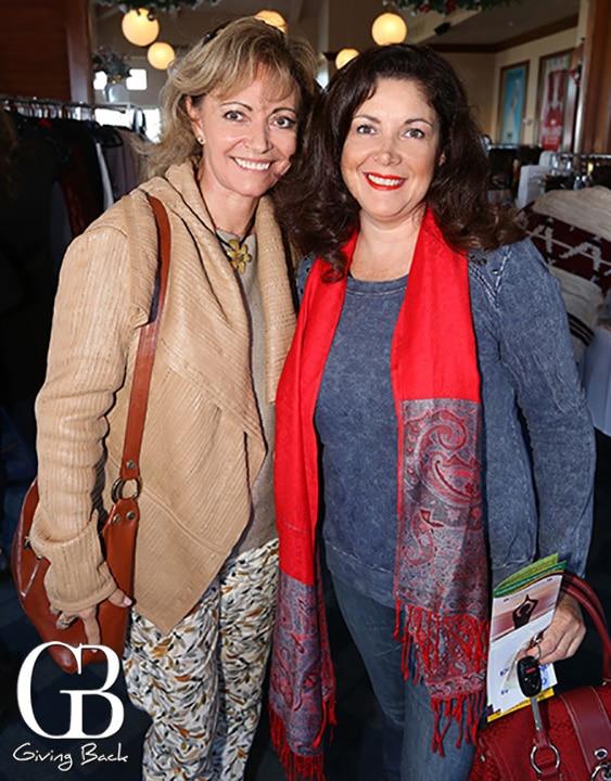 Paola Morris and Patti Rubalcava