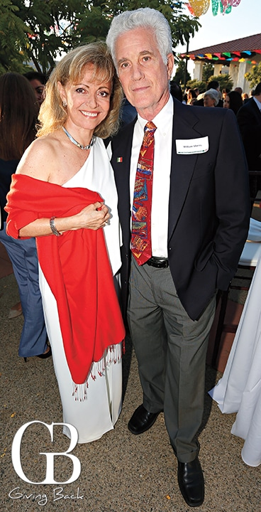 Paola and Dudley Morris