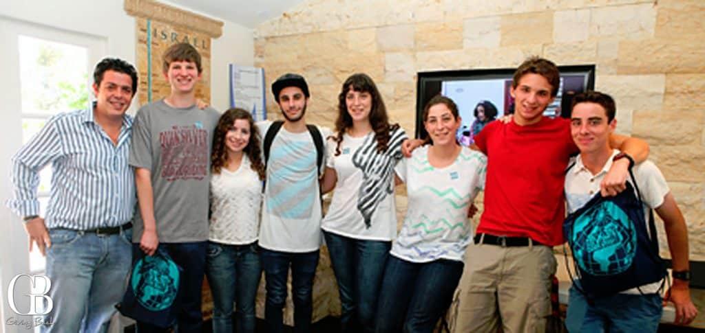 Participants visiting Balboa Park institutions