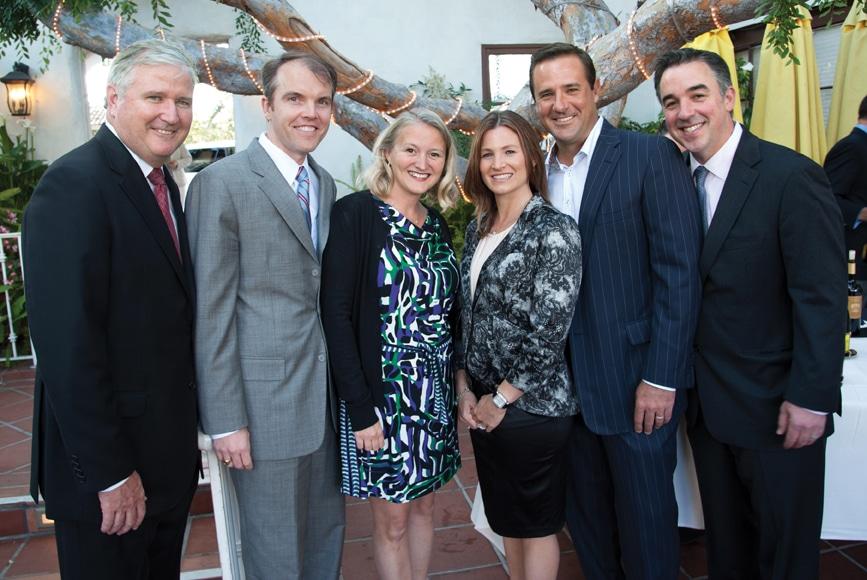 Pat Ahern, Chris and Malinda Marsh, Marly and Chris Franke with Dan Klunk +