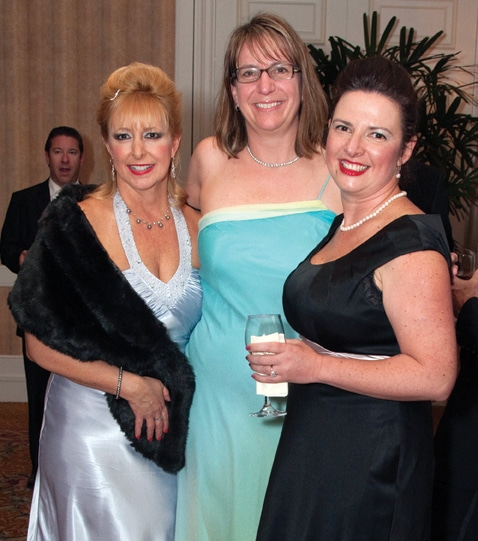 Pat Perricone, Joelle Coletta and Natalie Golts