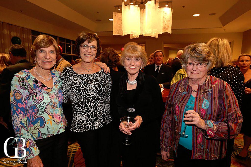 Pat Flynn  Marilyn Rees  Charlotte Harris and Kathie Parish