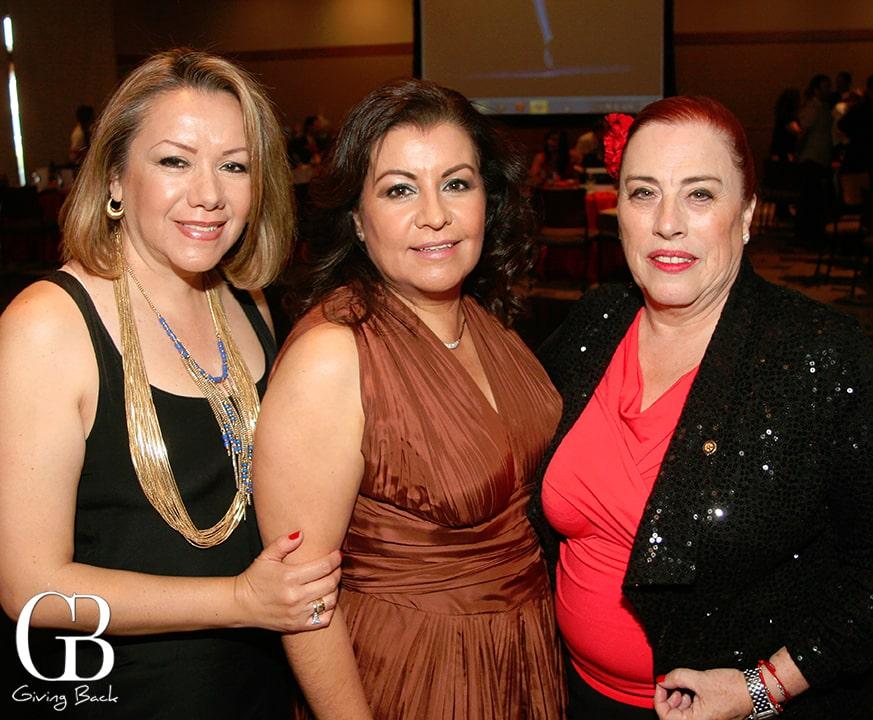 Patricia Galina  Aracely Ramirez and Bertha de la Fuente