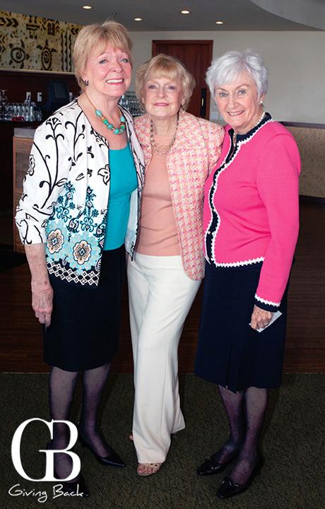 Patricia Maxwell  Joan Henkelmann and Sylvia Smith