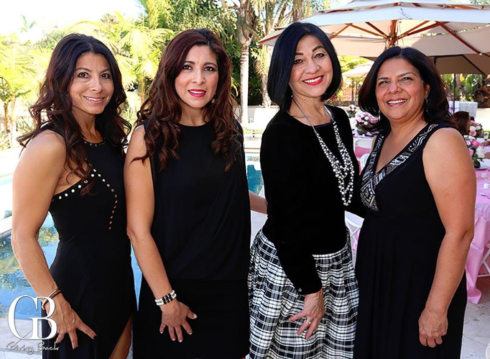 Patricia Ortiz  Maria Alcala  Carmen Spates and Judy Carrillo