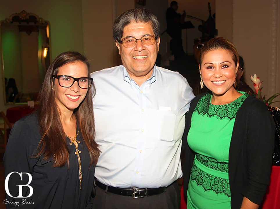 Patricia Pinzon  Richard Ybarra and Cecilia Guzman