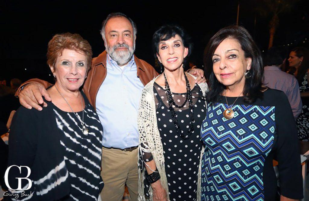 Patricia Rosas  Manuel Arroyo  Olga de la Vega y Marisa