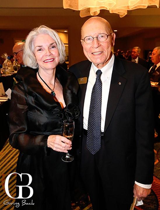 Patricia and Michel Debbar