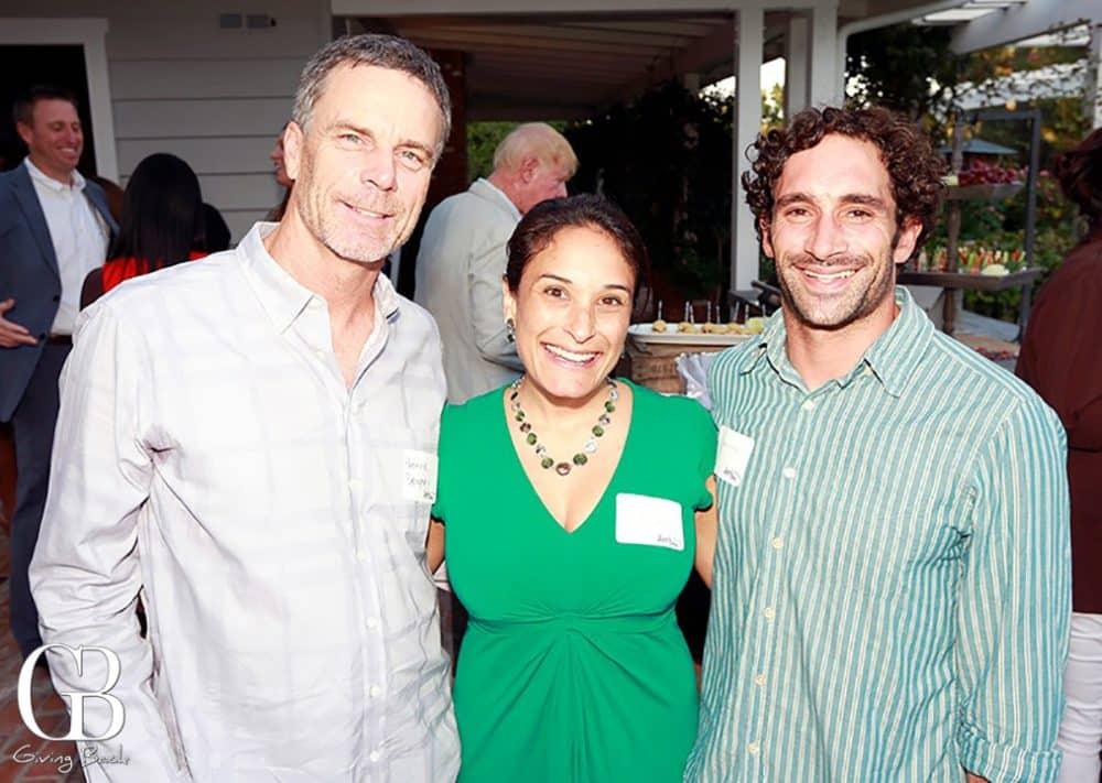 Patrick Dempsey  Lakshmi Paranthaman and Sean Brody