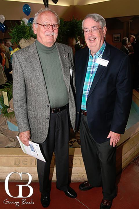 Patrick Hanson and Jim Corrigan
