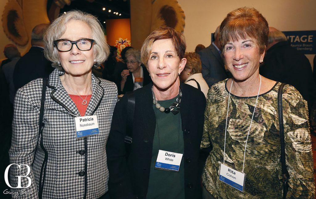 Patti Nussbaum  Doris White and Rita Cohen