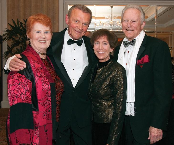 Patty Cooprider, Tom and Cindy Goodman with Coop Cooprider