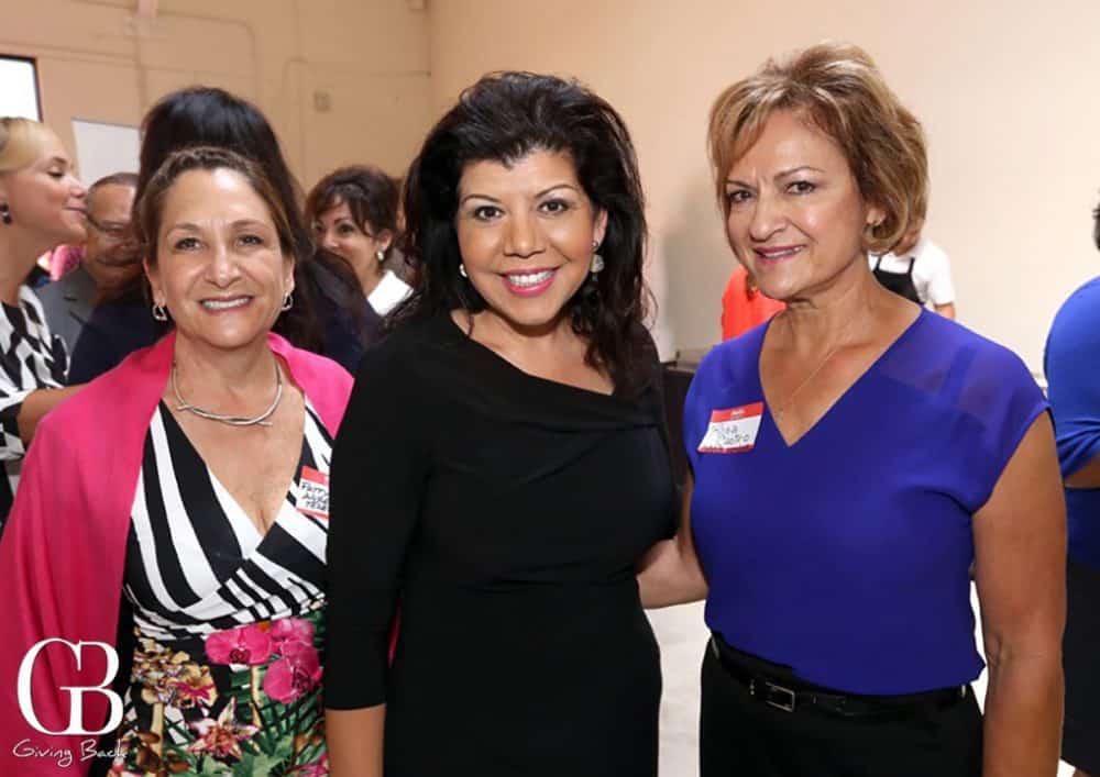 Patty Alvarez  Berenice Zamaro and Rosa Castro