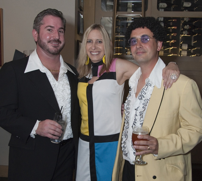 Paul Pietranico, Samantha Hardy and Darren Hardy
