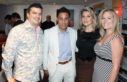Paul Post, Rafael del Aguia, Marilyn Klisser and Deanna Post.JPG