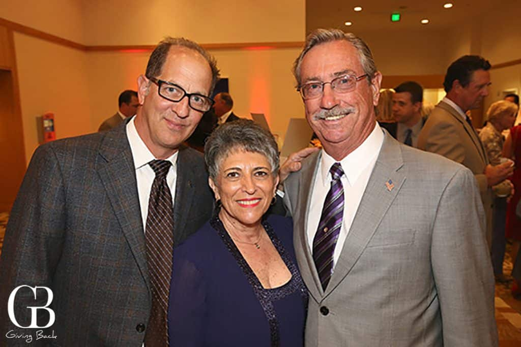 Paul Nestor with Jean and Jay Pohl