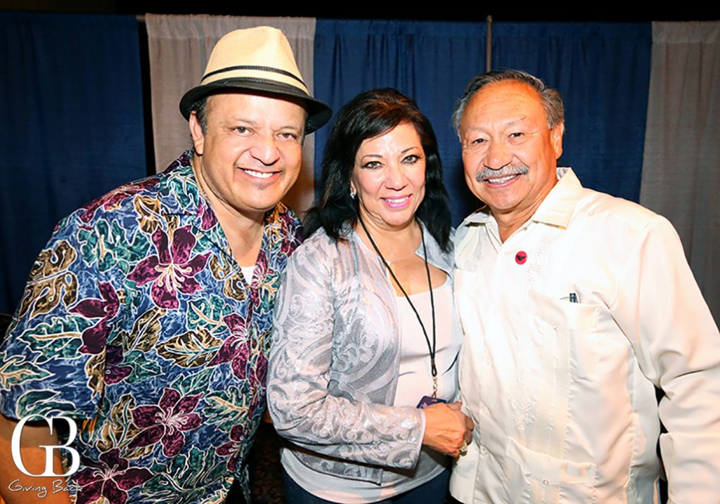 Paul Rodriguez with Sonia and Arturo Rodriguez