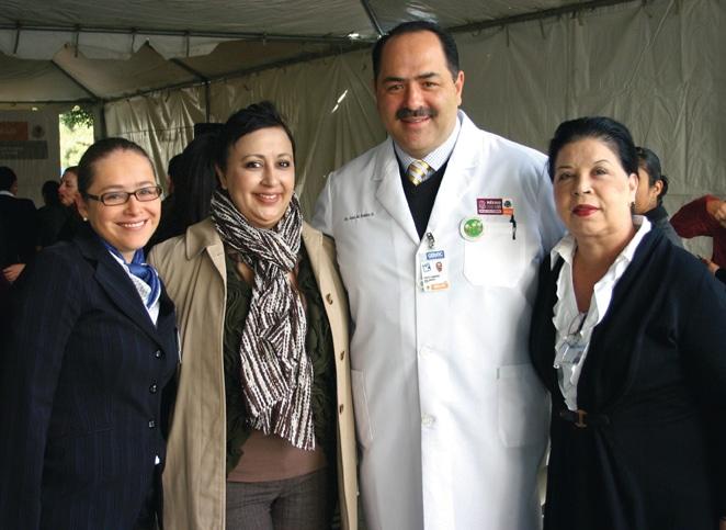 Paula Aristizabal, Sofia Lopez, Jose Manul Robles y Mago Becerril.JPG