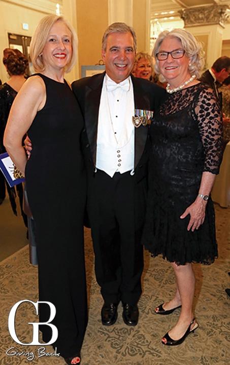 Paula Kerger  Tom Karlo and Rebecca Eaton at KPBS Gala