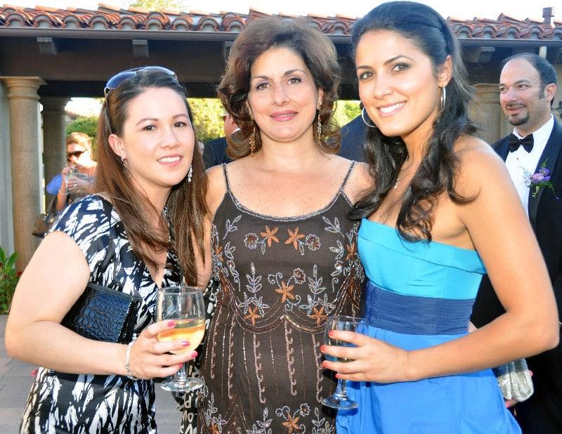 Paulette Villegas with Mona and Jenna Khoury.JPG