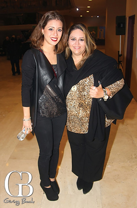 Paulina Amaya and Erica De La Fuente
