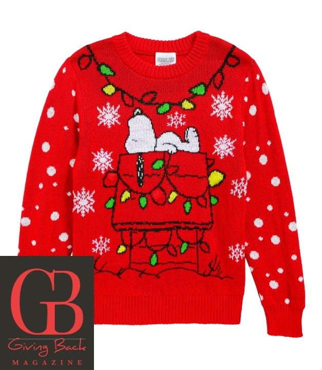 Peanuts Snoopy Light Up Holiday Sweater by Jem