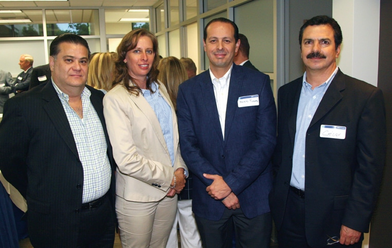 Pedro Muro, Blanca Beas, Fausto Flores and Cesar Gonzalez.JPG