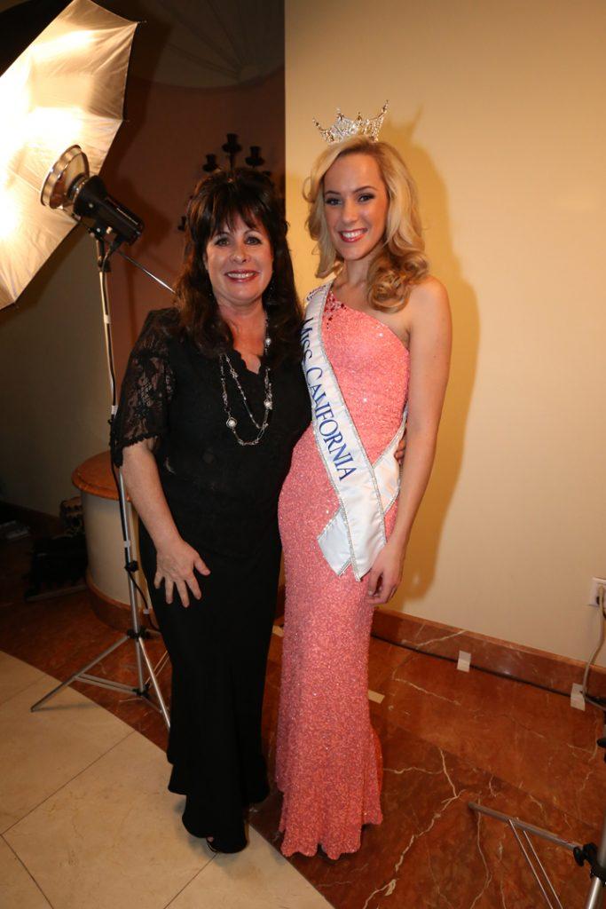 Peggy Stern and Miss California Leah Cicil.JPG