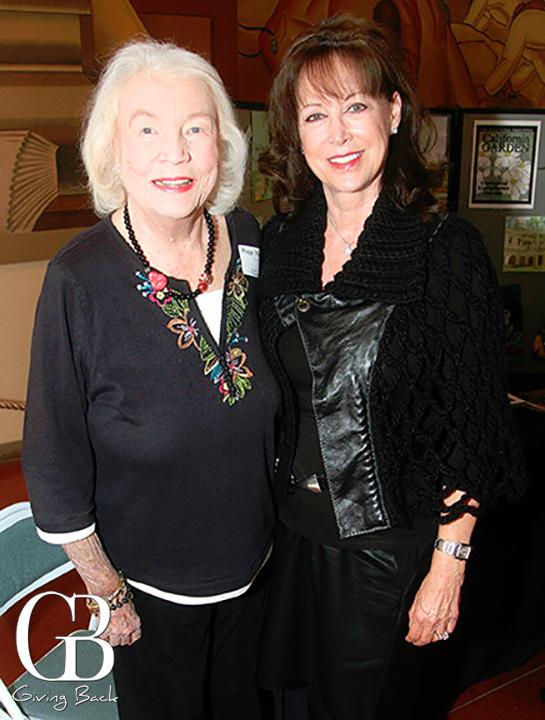 Peggy Matthews and Ellen Bryson