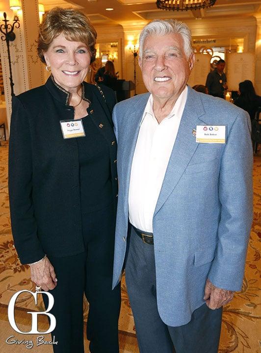 Peggy Stewart and Bob Baker