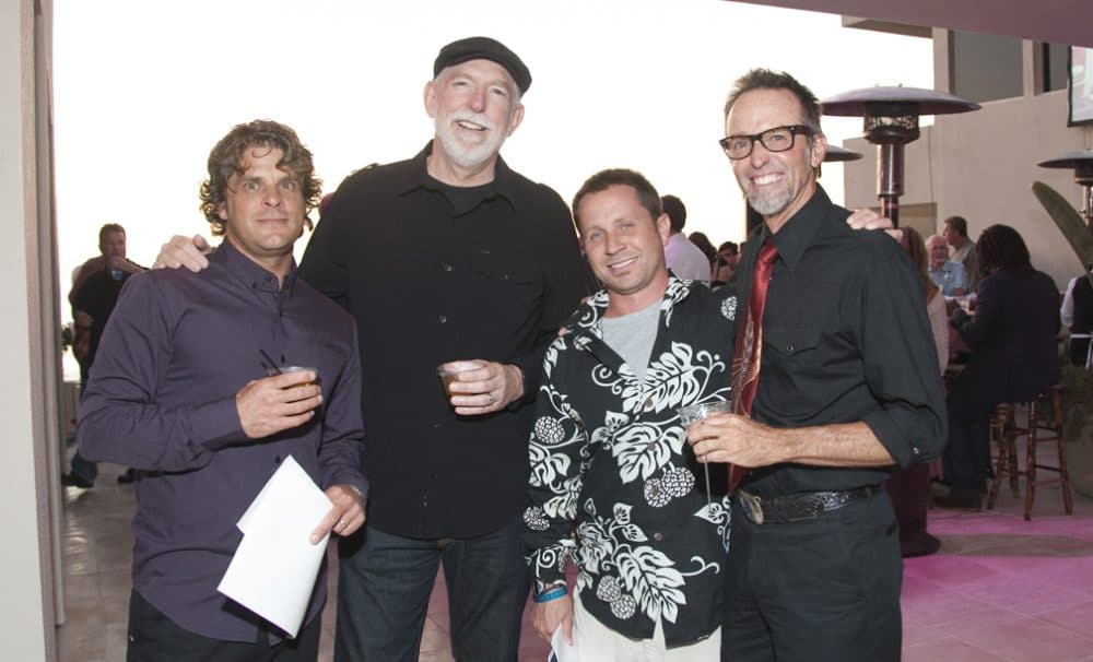 Pete Censoplano, Dave Nash, Chris Wagaman and Jim Austin