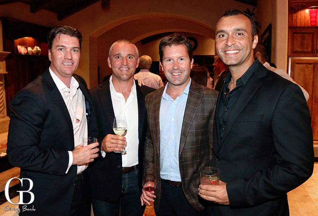 Pete Middleton  Giuseppe Ciuffa  Trevor Callan and Jawad Bisharat