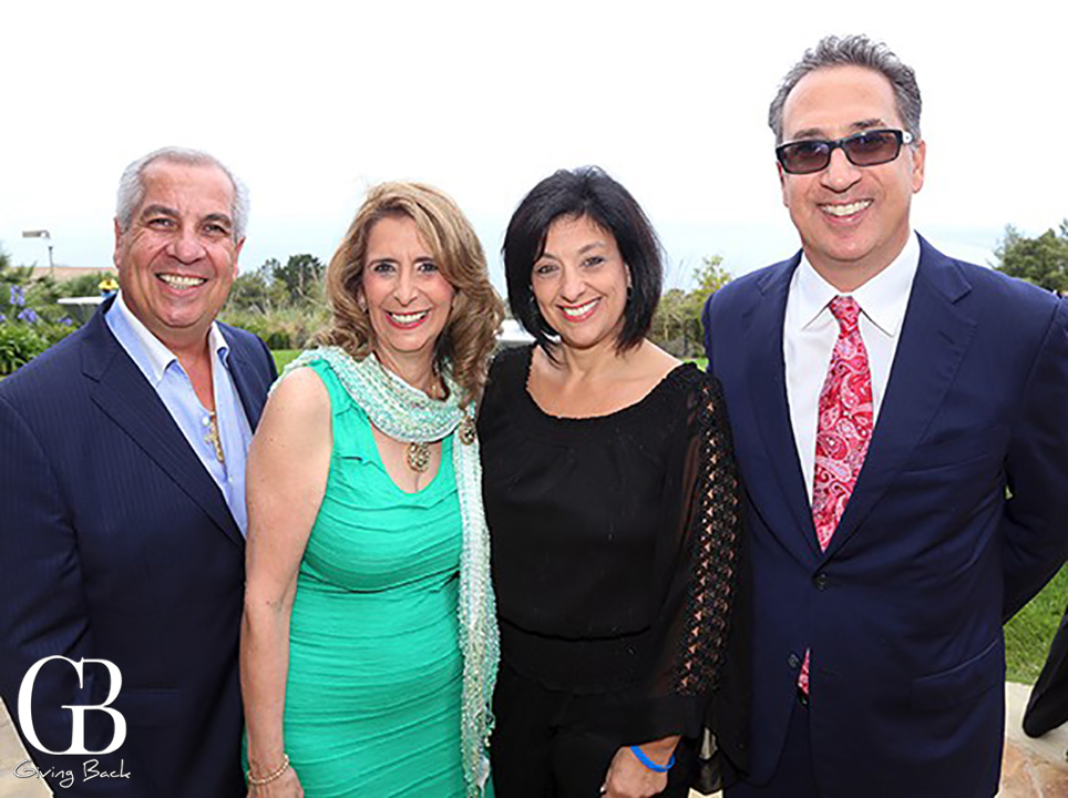 Pete and Kathy Sciarrino with Antonia and Anthony Buono