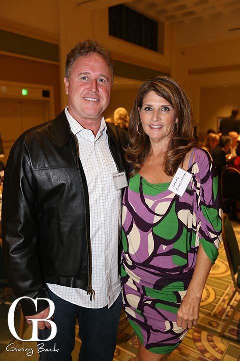 Peter Johnson and Carol Zimmerman