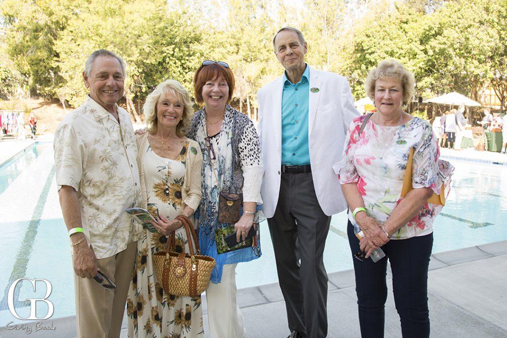 Peter and Mary Ellen Ferrantelli  Sharon Esche and Alexander Irving and Anne Koenig