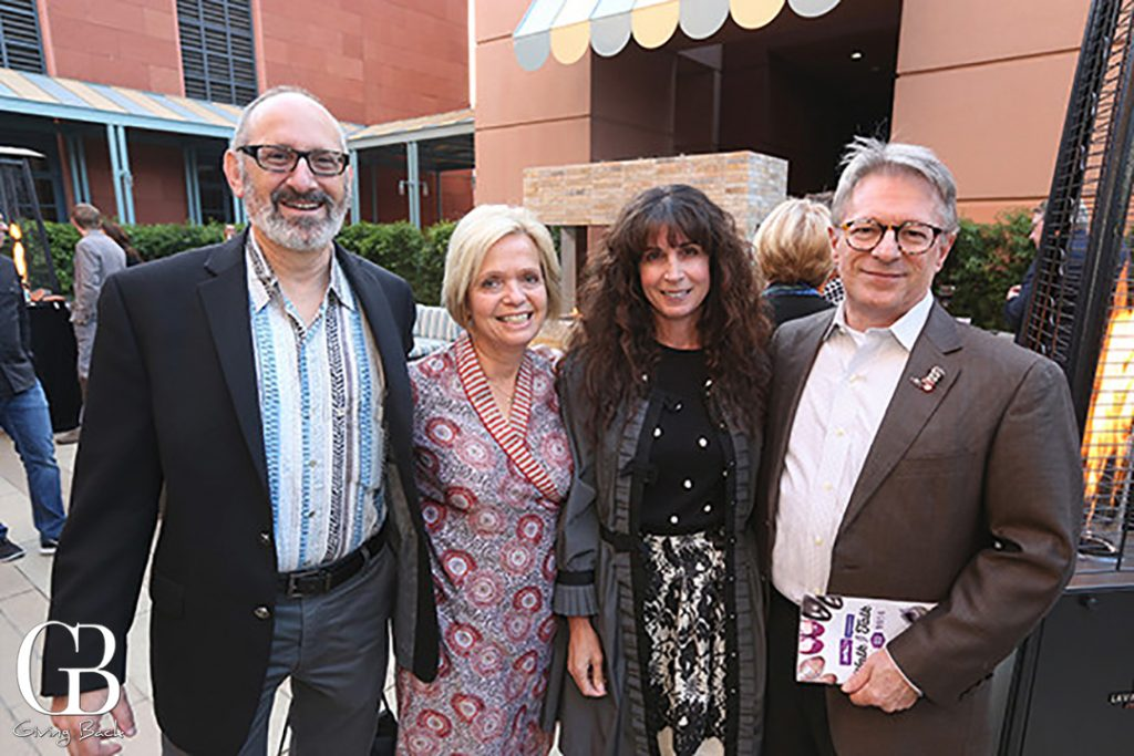 Peter and Rachel Zahn with Michelle Pius and Larry Donofrio